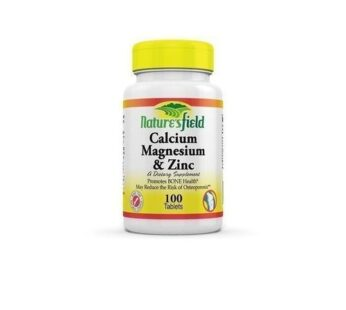 Nature'S Field Natures Field Calcium, Magnesium And Zinc X 100 Tablets