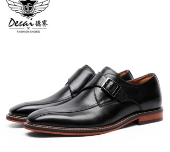 Desai 2020 Wholesale Male Real Genuine Leather Shoes For Men