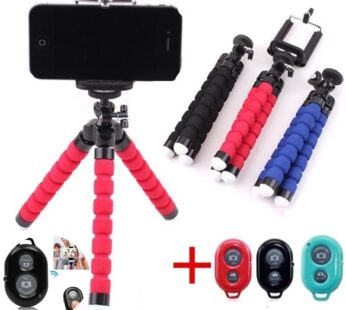 Flexible Octopus Tripod Bracket for Mobile Phone Camera Selfie Stand Monopod Support Photo Remote Control