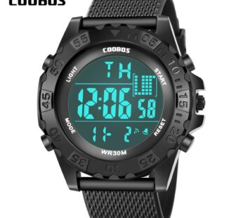 New Arrival Kids Watch Digital Sports Silicone Wrist Watches