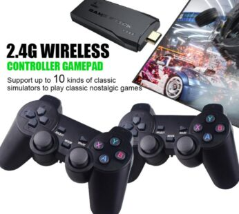 Portable 4K TV Video Game With 2.4G Wireless Controller Support 3000 / 10000 Classic Console